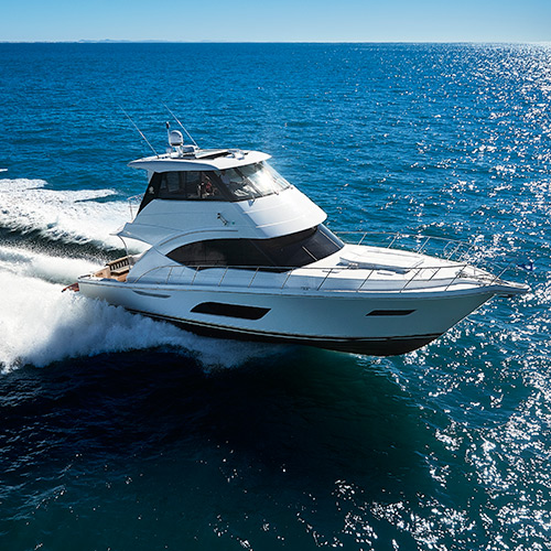 The 57 Flybridge will excite boating enthusiasts