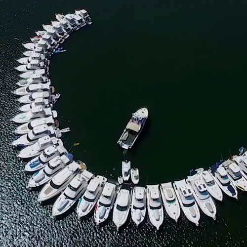 World-record Riviera raft-up in Western Australia