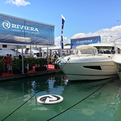 Riviera celebrates at the Miami International Boat Show