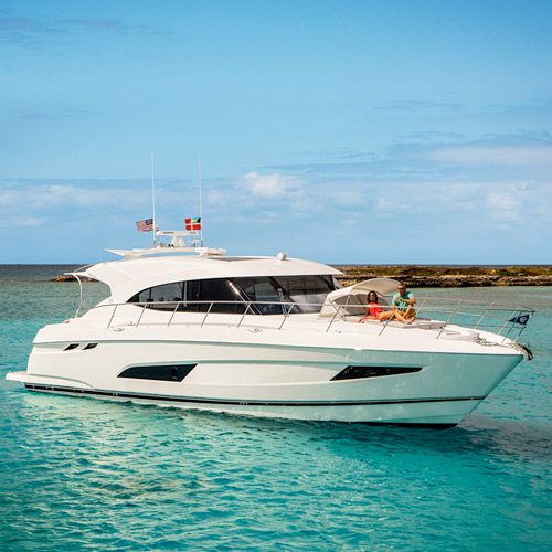 Asia Premiere of the Riviera 5400 Sport Yacht  at the Singapore Yacht Show