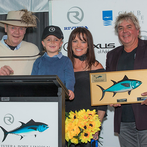 Six-year-old wins 'Small Fry Champion' at Riviera Tuna Classic