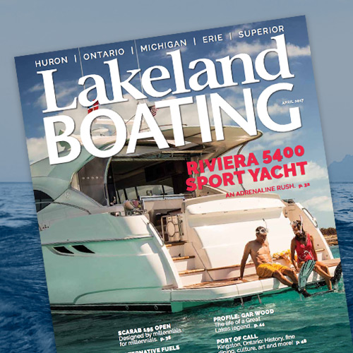 Lakeland Boating tests the Riviera 5400 Sport Yacht