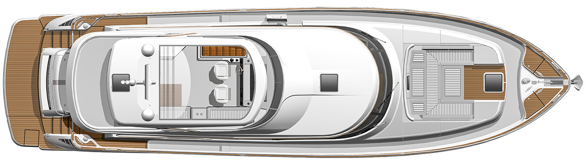 B66-Flybridge-Deck-with-Optional-Hardtop