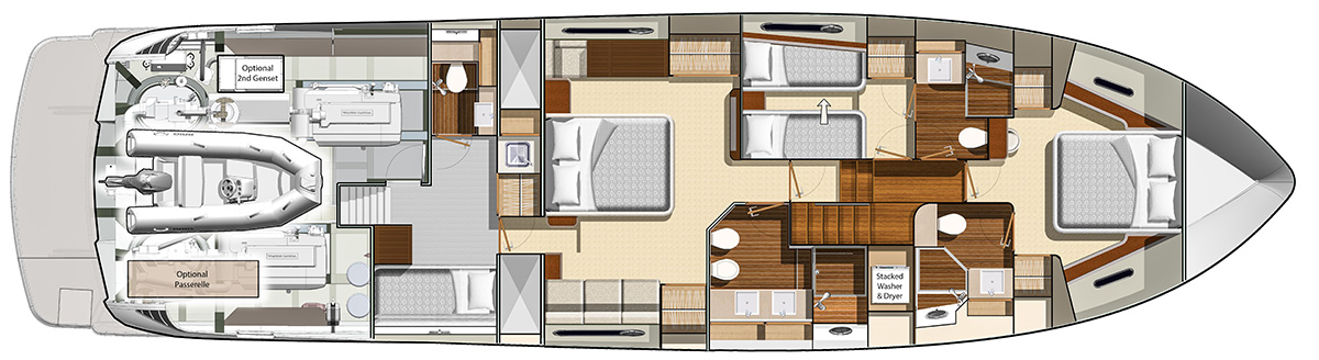 B66-Presidential-Layout---Optional-Bidet-and-Door-to-Single-Crew