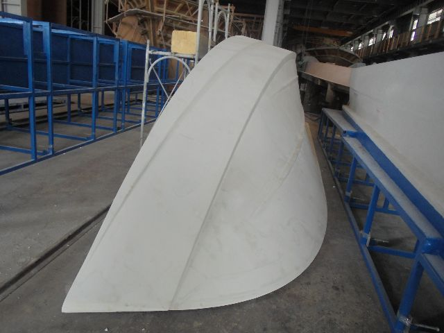 The port half of the hull plug.
