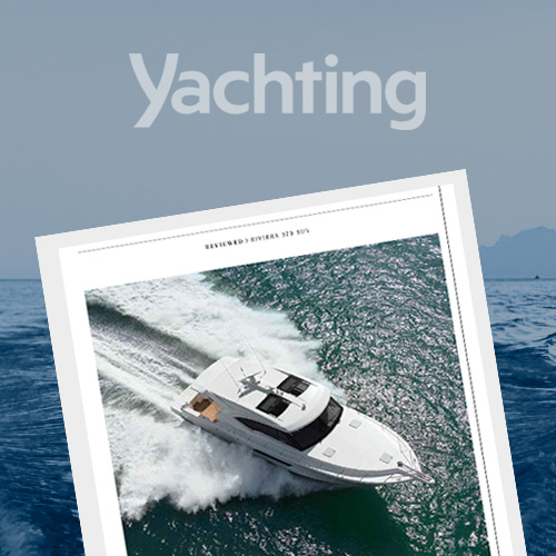 Yachting magazine reviews the go-anywhere Riviera 575 SUV