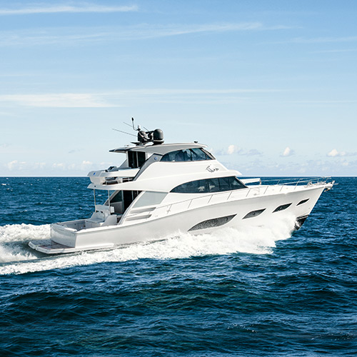 Riviera 68 Sports Motor Yacht undergoes final sea trials before World Premiere in Sydney