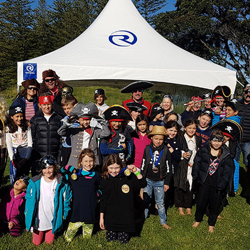 Pirates invade New Zealand's Motuihe Island for R Marine Flagship Experience