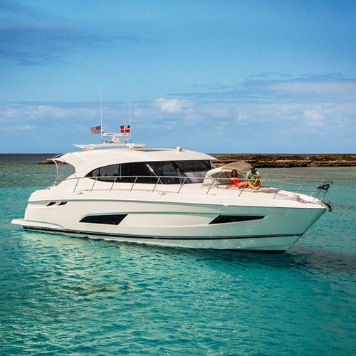 Riviera hosts the Western Australian Premiere of the 5400 Sport Yacht at the Perth International Boat Show