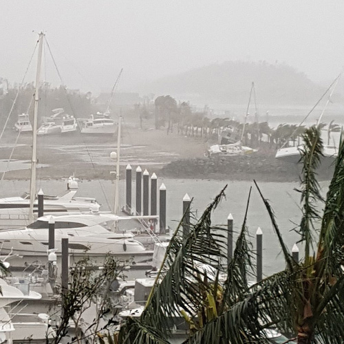 Riviera Aftermarket repairs damaged motor yachts from Cyclone Debbie