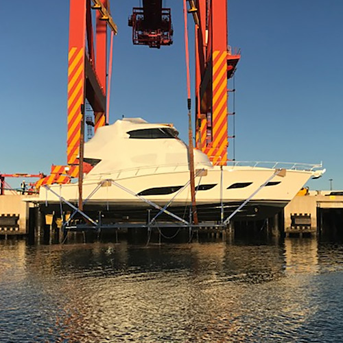 New Riviera and Belize Yachts on their way to owners around the world