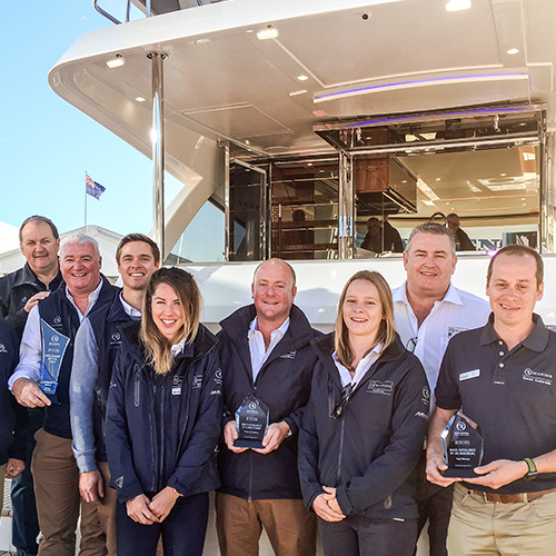 Riviera recognises industry excellence in Australian and New Zealand Dealer awards