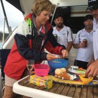 Platter day on board Pearl
