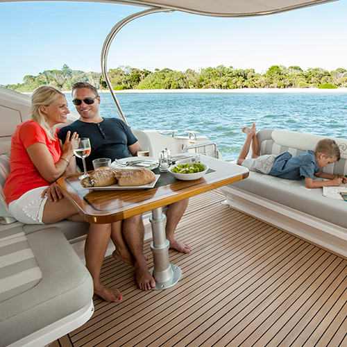 Asia-Pacific Boating magazine says our sophisticated 4800 Sport Yacht offers