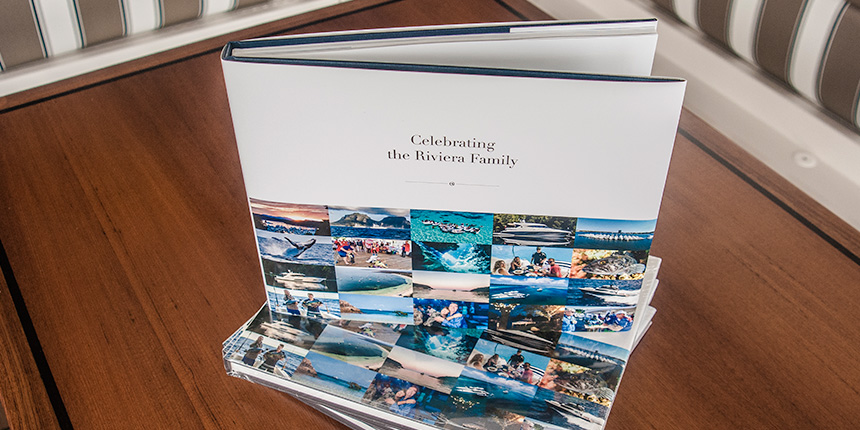 """Celebrating the Riviera Family"" - a superb 188-page book"