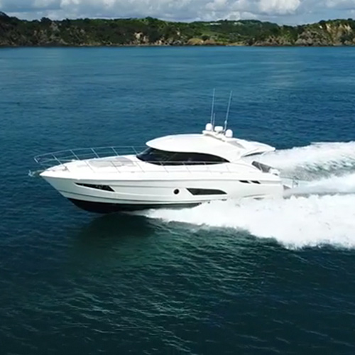 Boating New Zealand says the Riviera 4800 Sport Yacht is