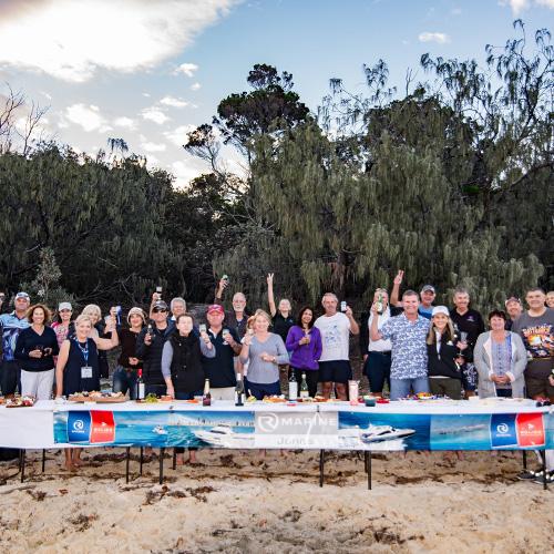 Fun and learning at R Marine Jones Moreton Bay Winter Weekend