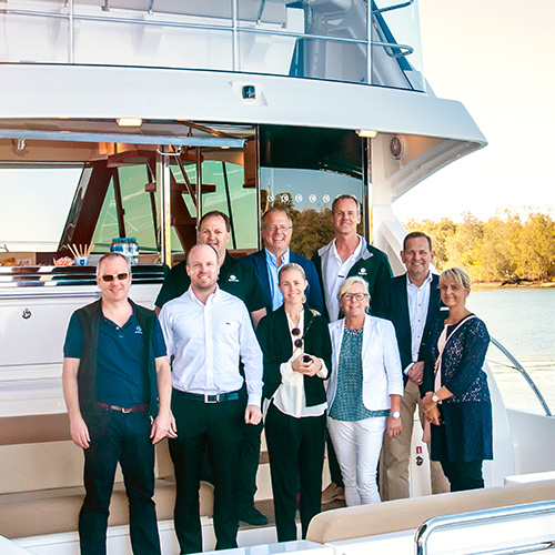 Volvo Group CEO praises Riviera innovation and quality