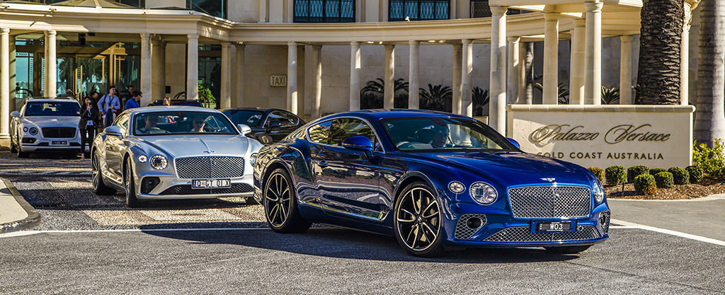 Bentley Continental GT launch at Palazzo Versace