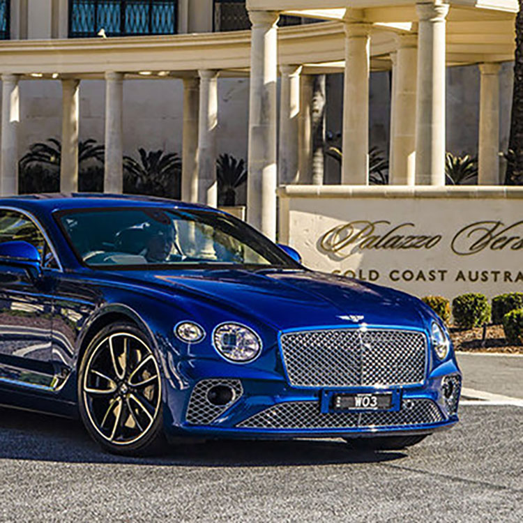 Riviera hosts Bentley Continental GT launch