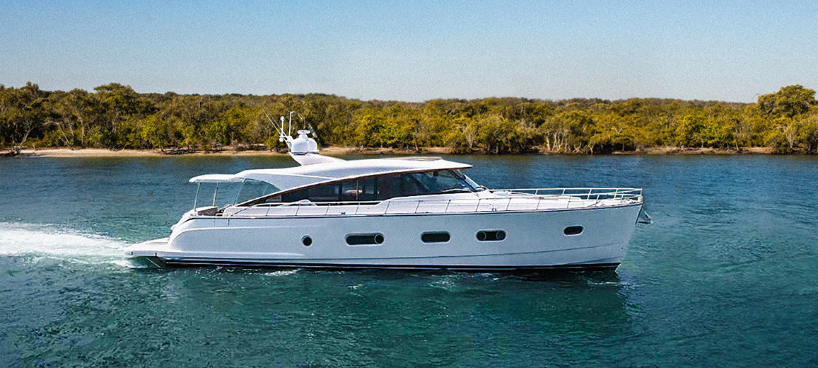 Magnificent new Belize 66 prepares for her World Premiere