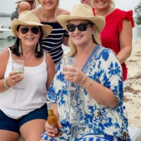 Long table lunch on the beach as Riviera owners celebrate the festive season
