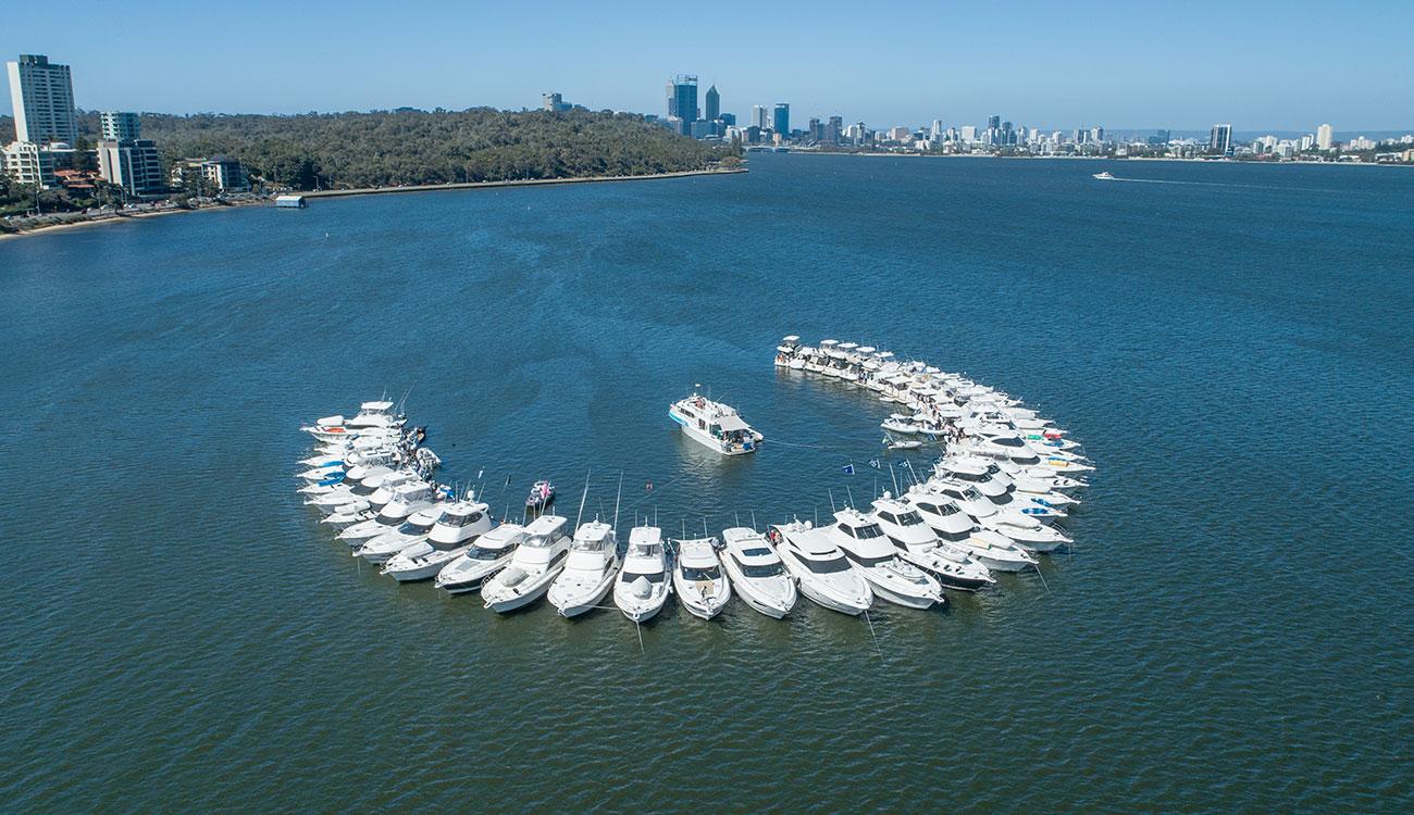 2018 Perth raft-up