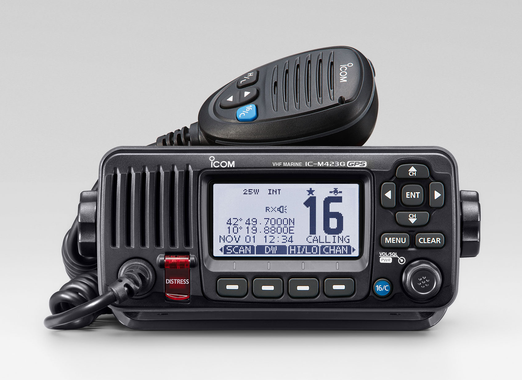Some LED lights can interfere with VHF radio transmissions.