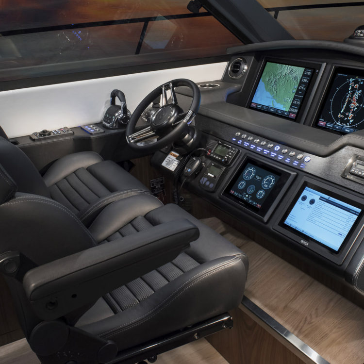 Volvo Penta Glass Cockpit - your world on one screen - discover more at the Festival of Boating