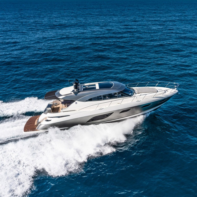 Riviera premieres four sensational yachts at the San Diego Boat Show in California