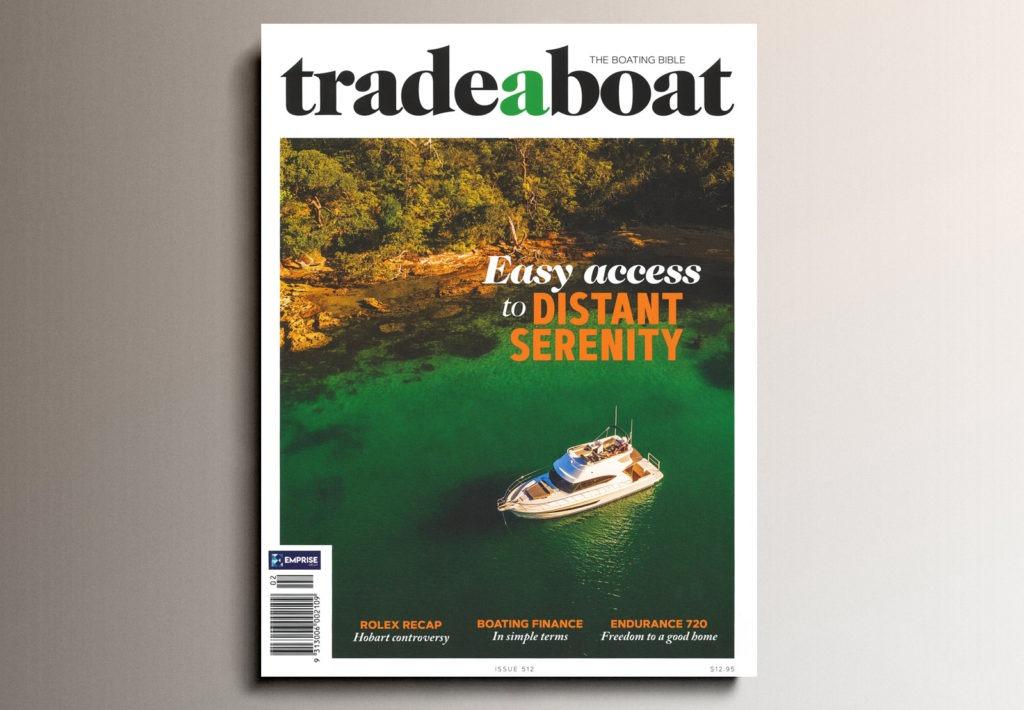 Magazine Cover Trade a Boat