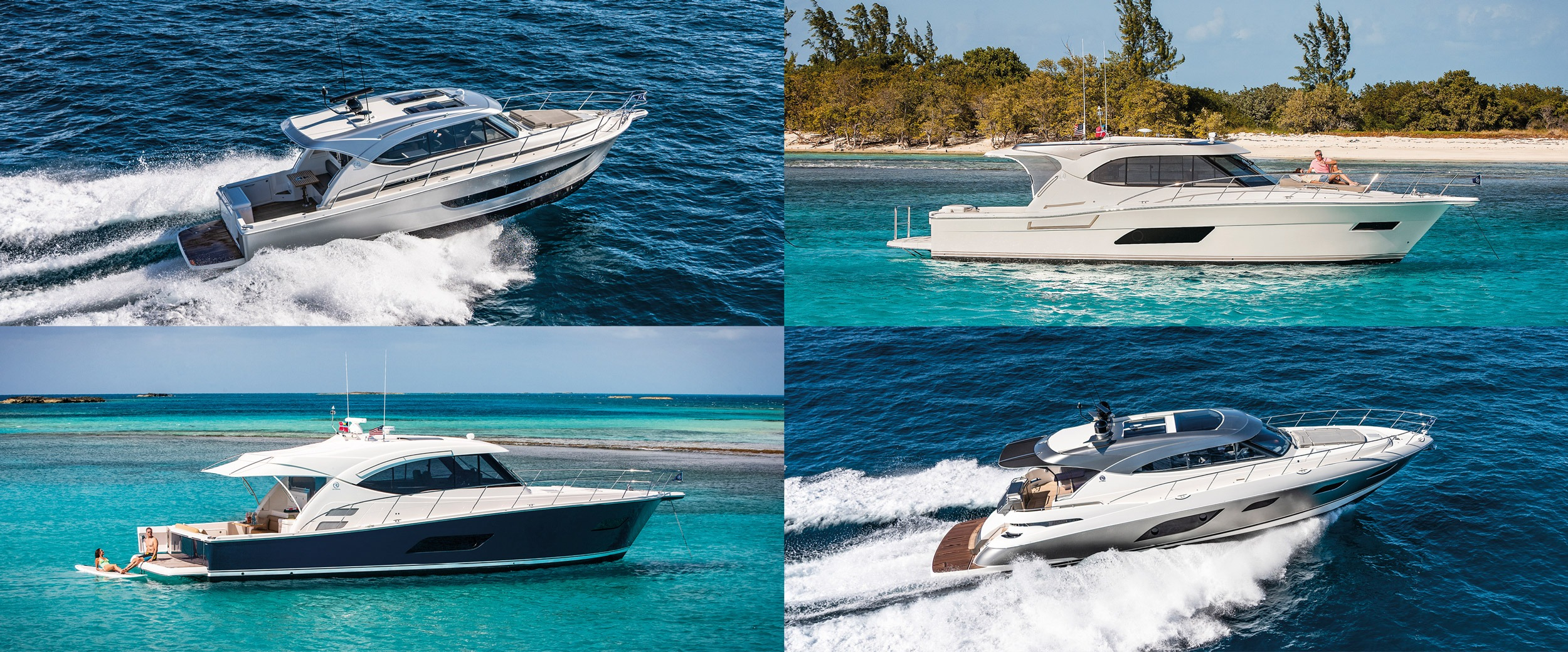 Riviera to premiere four sensational yachts at the San Diego Boat Show in California on June 6 to 9