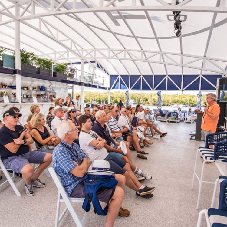 Riviera owners learn from experts at the 2019 Festival of Boating
