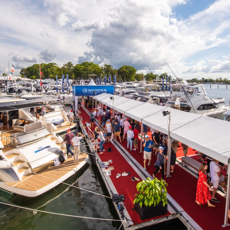 Riviera's largest display for 2019 captivates thousands of boating enthusiasts at Sanctuary Cove Boat Show