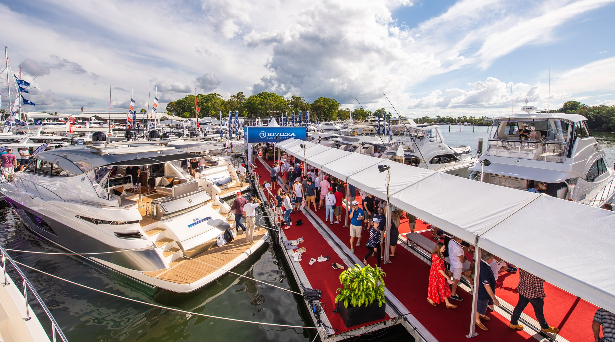 Riviera's largest display for 2019 captivates boating enthusiasts
