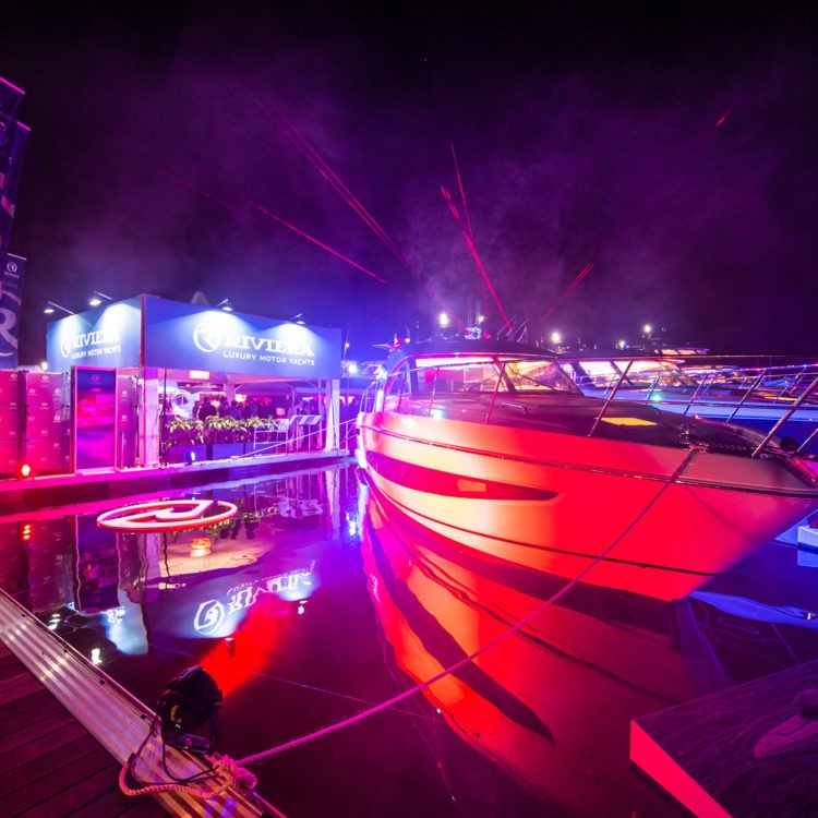 Gala Marina Party celebrates the premiere of the Platinum Edition Sport Yachts at Sanctuary Cove Boat Show