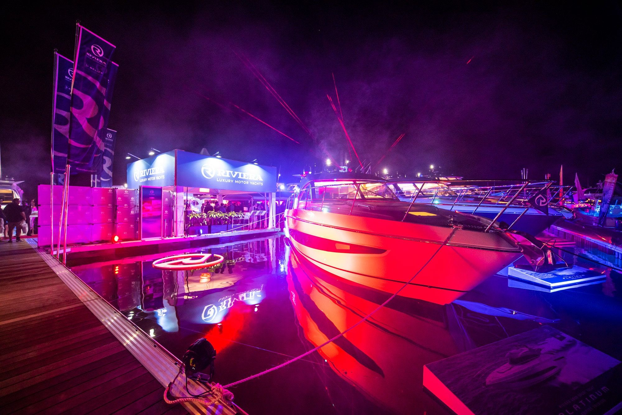 Gala Marina Party celebrates the premier of the Platinum Edition