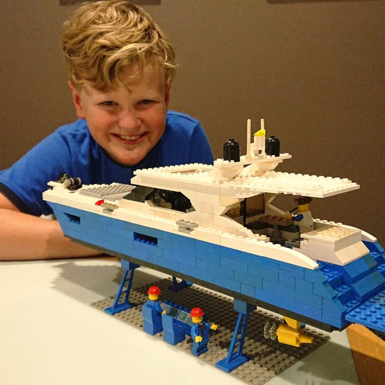 Luke's 'Lego Riv' hits the small screen for all to enjoy