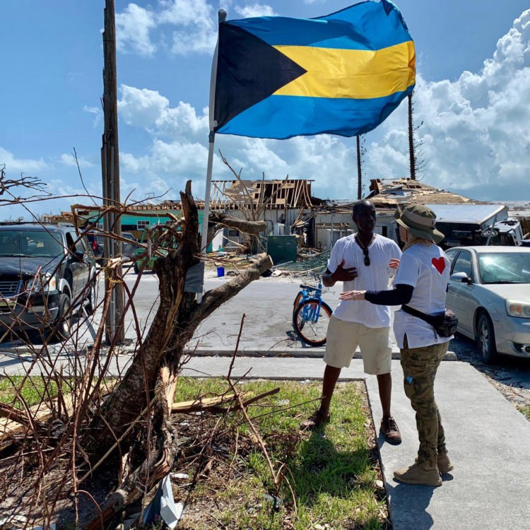 Riviera extends the hand of friendship to Bahamian hurricane victims