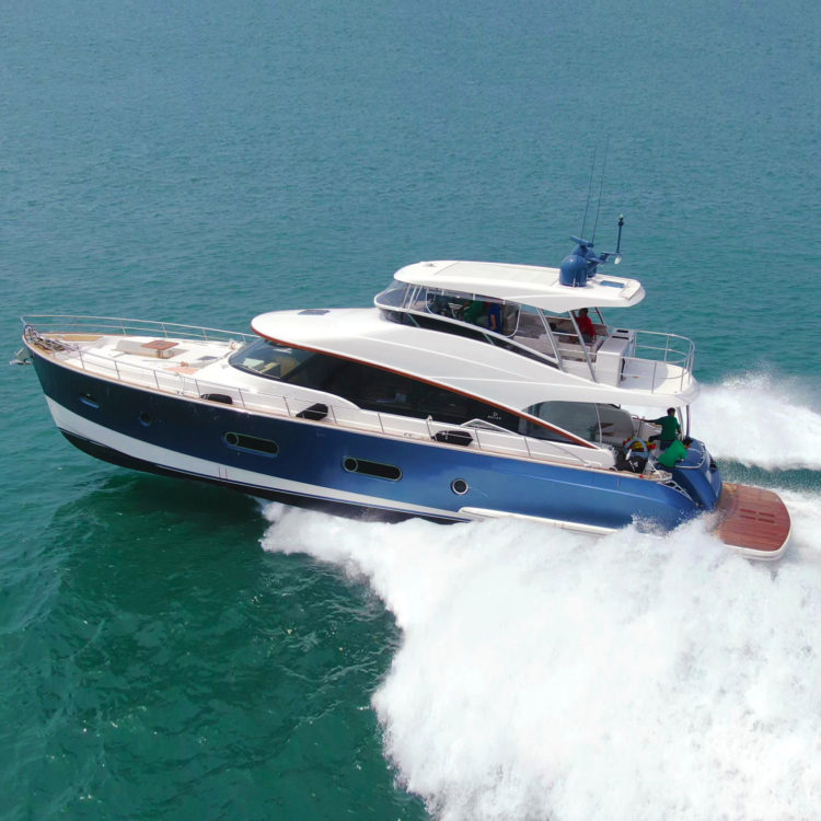 Belize 66 Daybridge passes final sea trials ahead of world premiere at Fort Lauderdale