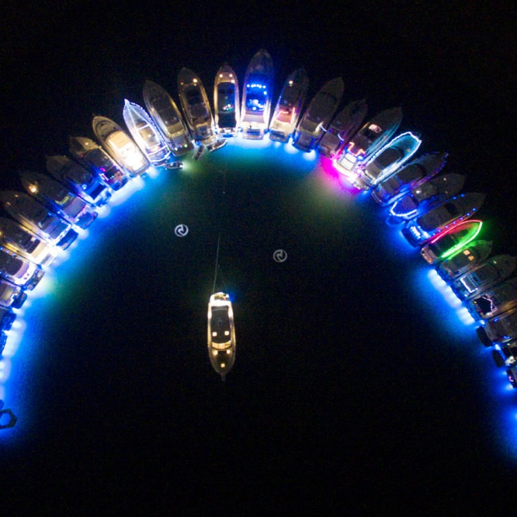 The Gold Coast lights up with luxury for the R Marine Jones Riviera Raft-Up