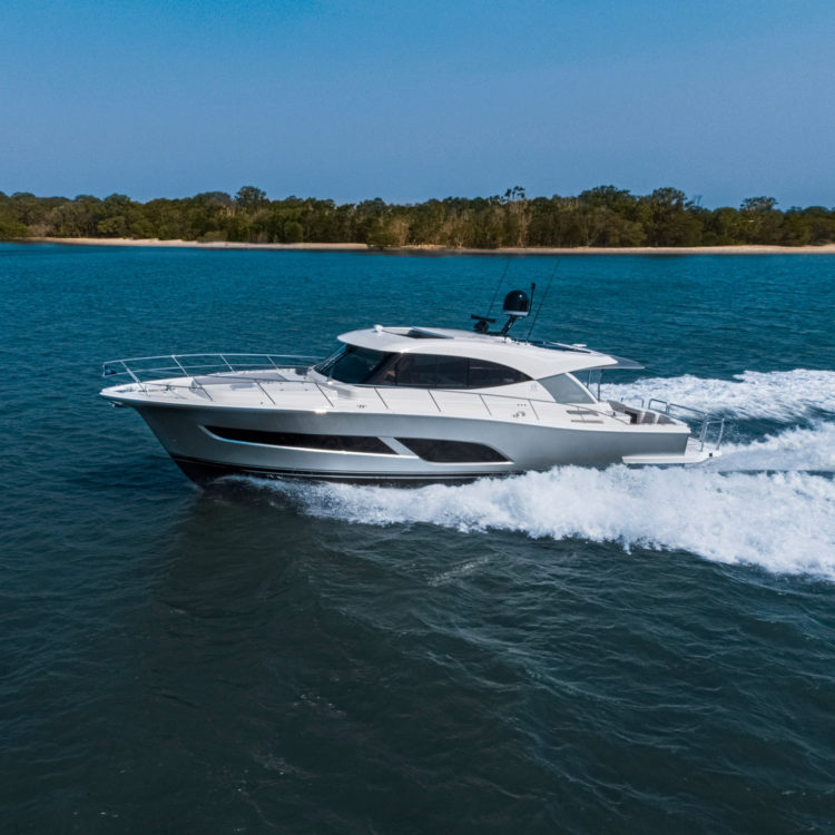 Riviera 505 SUV world premiere headlines seven-yacht display  at the Miami Yacht Show in February 2020