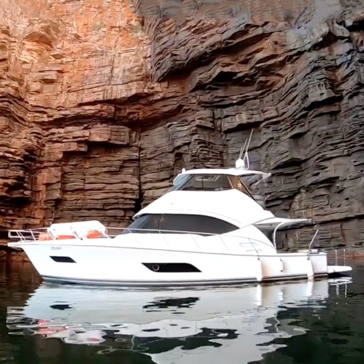 A 5,000 nautical mile odyssey to the Kimberley aboard a Riviera 50 Enclosed Flybridge