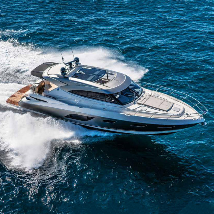 Yachting magazine puts the Riviera 6000 Sport Yacht Platinum Edition to the test