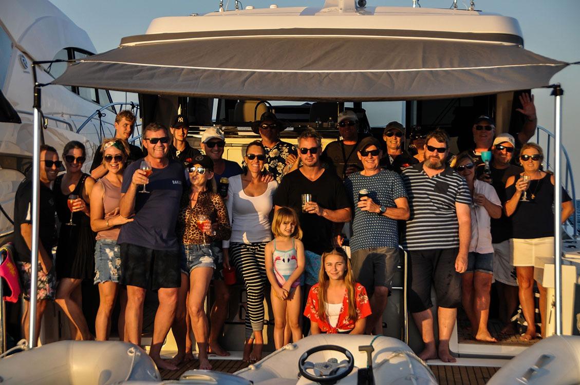 Riviera Family photo at Lady Musgrave atoll