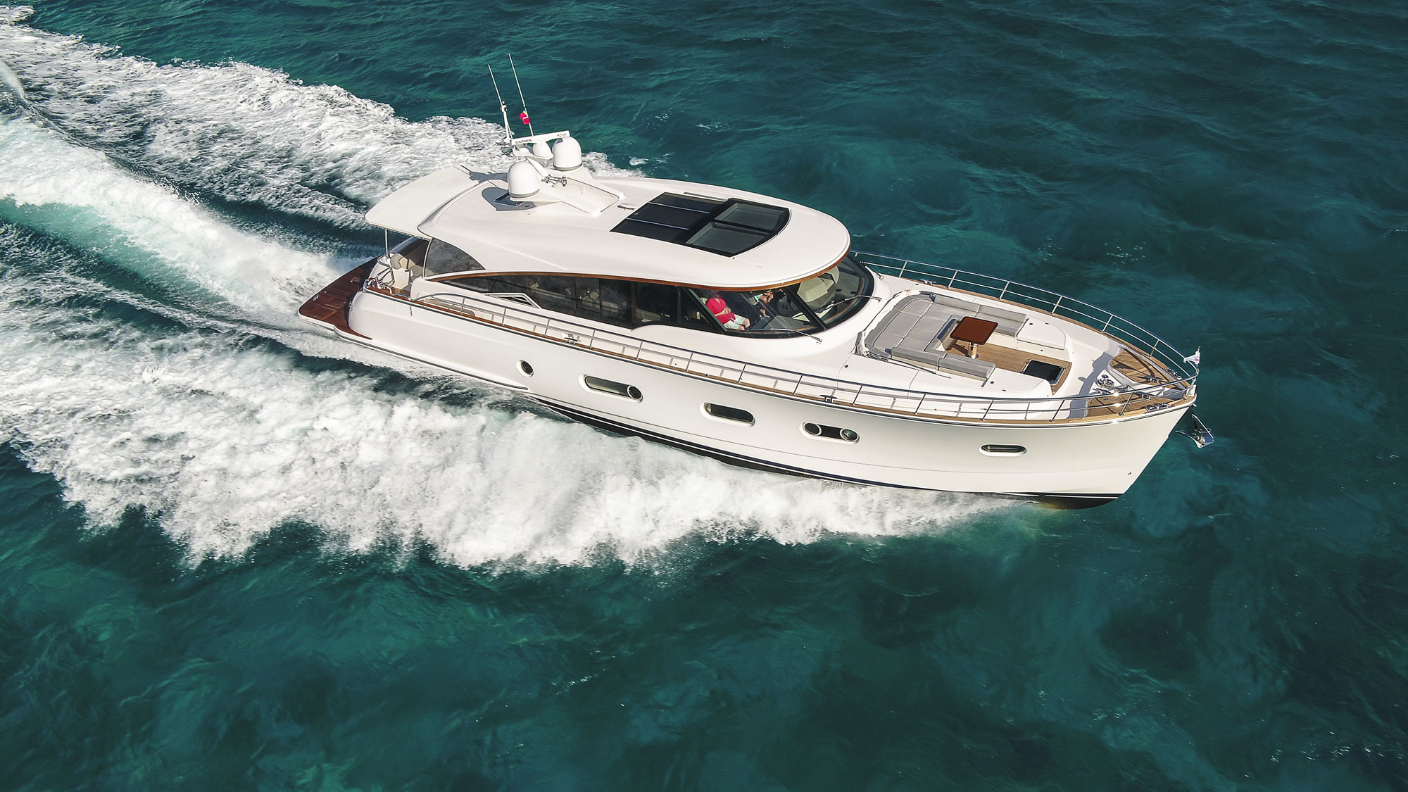 "Ocean magazine says the new Belize 66 Sedan is a ""stand out"""